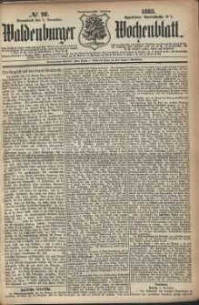 Waldenburger Wochenblatt, Jg. 29, 1883, nr 98