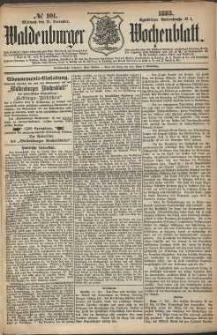 Waldenburger Wochenblatt, Jg. 29, 1883, nr 101