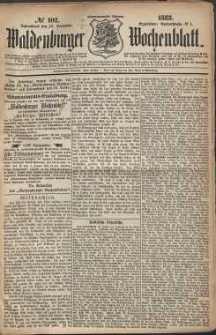 Waldenburger Wochenblatt, Jg. 29, 1883, nr 102