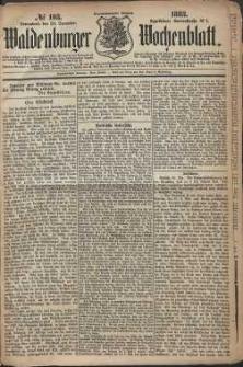 Waldenburger Wochenblatt, Jg. 29, 1883, nr 103