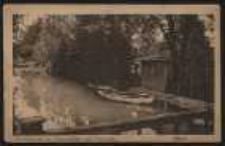 Ohlau – Gondelpartie am Schützenhaus und Stadtpark [Dokument ikonograficzny]