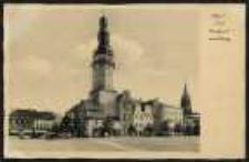 Ohlau i Schl. – Rathaus mit Ring [Dokument ikonograficzny]