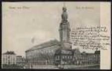 Gruss aus Ohlau – Ring mit Rathaus [Dokument ikonograficzny]