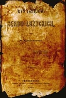 Rys dziejów serbo-łużyckich