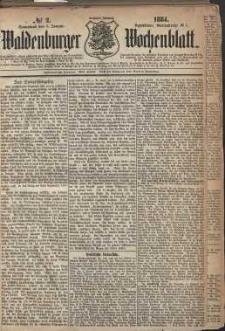 Waldenburger Wochenblatt, Jg. 30, 1884, nr 2