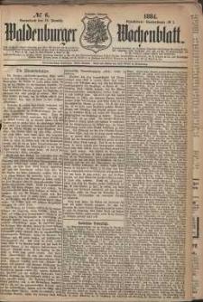Waldenburger Wochenblatt, Jg. 30, 1884, nr 6