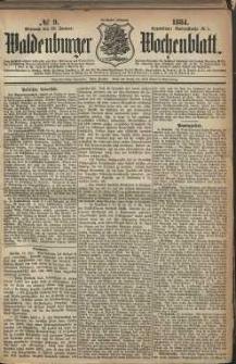 Waldenburger Wochenblatt, Jg. 30, 1884, nr 9