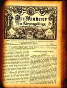 Der Wanderer im Riesengebirge, 1885, nr 37