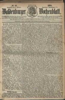 Waldenburger Wochenblatt, Jg. 30, 1884, nr 12