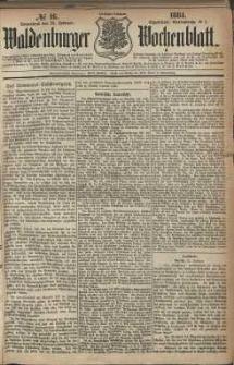 Waldenburger Wochenblatt, Jg. 30, 1884, nr 16