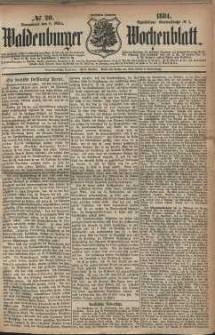 Waldenburger Wochenblatt, Jg. 30, 1884, nr 20