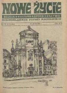 Nowe Życie: dolnośląskie pismo katolickie: religia, kultura, społeczeństwo, 1988, nr 15 (130)