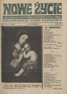 Nowe Życie: dolnośląskie pismo katolickie: religia, kultura, społeczeństwo, 1988, nr 17 (132)