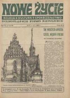 Nowe Życie: dolnośląskie pismo katolickie: religia, kultura, społeczeństwo, 1989, nr 9 (150)