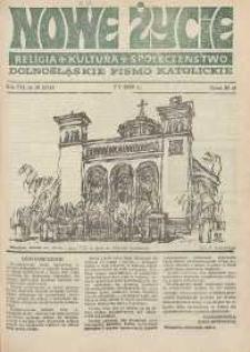 Nowe Życie: dolnośląskie pismo katolickie: religia, kultura, społeczeństwo, 1989, nr 10 (151)