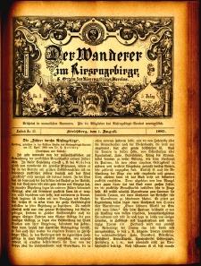 Der Wanderer im Riesengebirge, 1885, nr 43