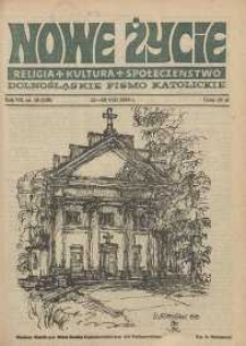 Nowe Życie: dolnośląskie pismo katolickie: religia, kultura, społeczeństwo, 1989, nr 18 (159)