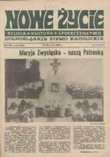 Nowe Życie: dolnośląskie pismo katolickie: religia, kultura, społeczeństwo, 1989, nr 21 (162)