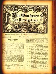 Der Wanderer im Riesengebirge, 1885, nr 44