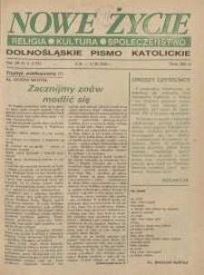 Nowe Życie: dolnośląskie pismo katolickie: religia, kultura, społeczeństwo, 1990, nr 5 (173)