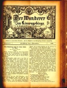 Der Wanderer im Riesengebirge, 1885, nr 46