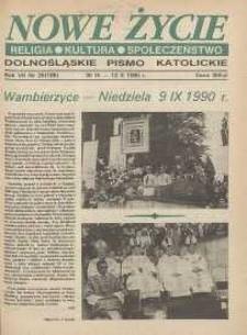 Nowe Życie: dolnośląskie pismo katolickie: religia, kultura, społeczeństwo, 1990, nr 20 (188)