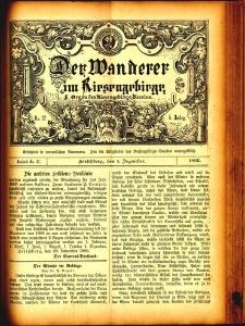 Der Wanderer im Riesengebirge, 1885, nr 47