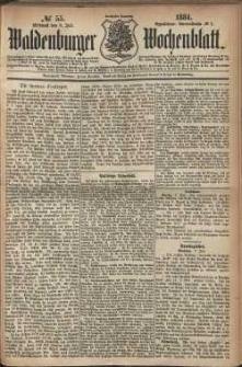 Waldenburger Wochenblatt, Jg. 30, 1884, nr 55