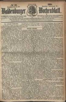 Waldenburger Wochenblatt, Jg. 30, 1884, nr 58