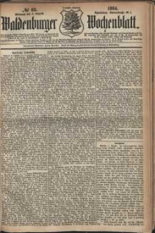 Waldenburger Wochenblatt, Jg. 30, 1884, nr 63