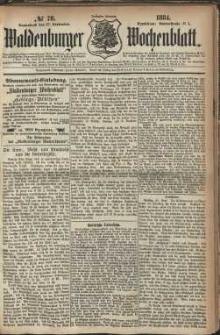 Waldenburger Wochenblatt, Jg. 30, 1884, nr 78