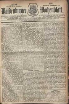 Waldenburger Wochenblatt, Jg. 30, 1884, nr 93