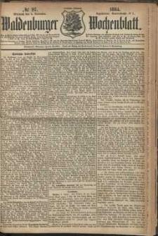 Waldenburger Wochenblatt, Jg. 30, 1884, nr 97