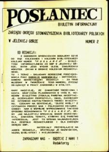 Posłaniec : biuletyn, 1994, nr 2