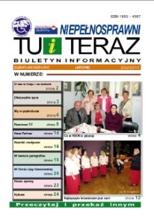 Niepełnosprawni Tu i Teraz : biuletyn informacyjny, 2011, nr 3 (42)