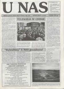U Nas : miesięcznik jaworzyński, 1995, nr 22