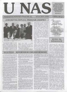 U Nas : miesięcznik jaworzyński, 1996, nr 25