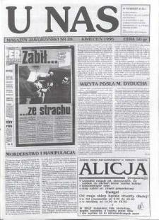 U Nas : miesięcznik jaworzyński, 1996, nr 28