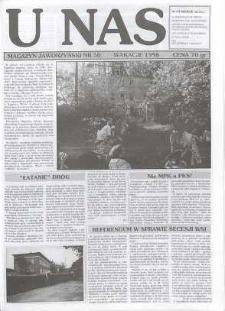 U Nas : miesięcznik jaworzyński, 1996, nr 30