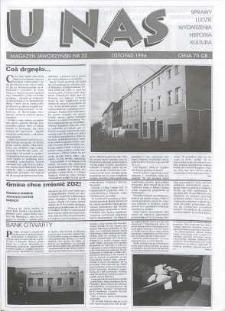 U Nas : miesięcznik jaworzyński, 1996, nr 33