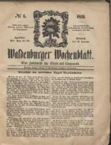 Waldenburger Wochenblatt, Jg. 5, 1859, nr 6