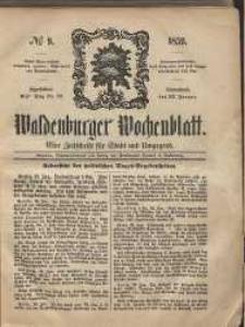Waldenburger Wochenblatt, Jg. 5, 1859, nr 9