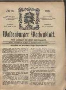 Waldenburger Wochenblatt, Jg. 5, 1859, nr 13