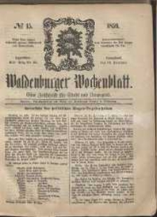 Waldenburger Wochenblatt, Jg. 5, 1859, nr 15