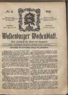 Waldenburger Wochenblatt, Jg. 5, 1859, nr 17