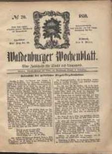 Waldenburger Wochenblatt, Jg. 5, 1859, nr 20
