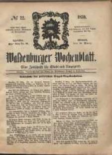 Waldenburger Wochenblatt, Jg. 5, 1859, nr 22
