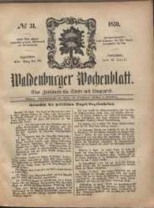 Waldenburger Wochenblatt, Jg. 5, 1859, nr 31