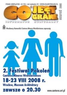 Co Jest Grane : informator kulturalny, 2008, nr 174