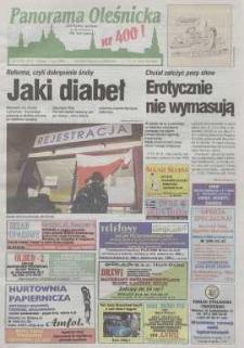 Panorama Oleśnicka: tygodnik Ziemi Oleśnickiej, 1999, nr 8 (400)